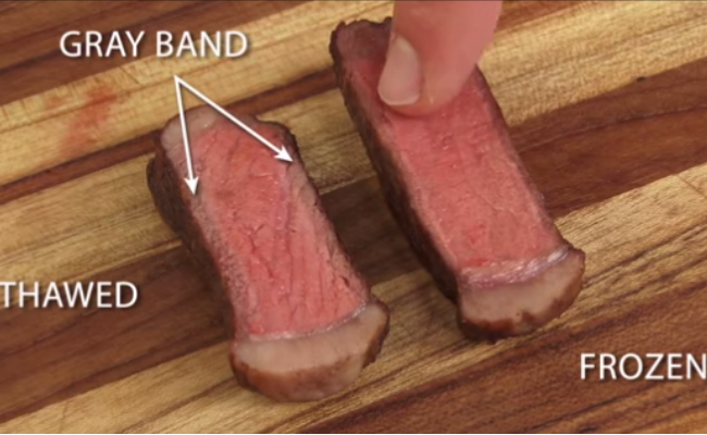 WATCH: Here's How to Cook a Frozen Steak
