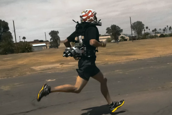 WATCH: New jetpack helps soldiers run faster