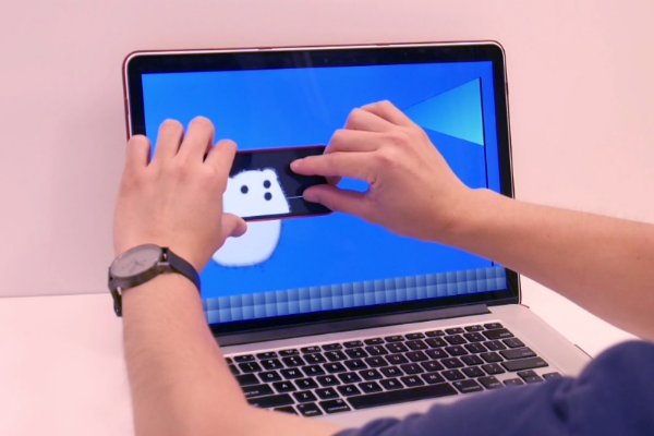 WATCH: New technology allows phone and computer screens to interact seamlessly