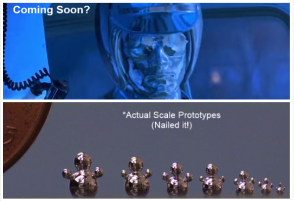 Scientists move liquid metals into humanoid shapes (and other more useful things)