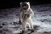 Watch: The bright side of the Moon: Lennon's tunes and Neil Armstrong's heartbeats are mixed together